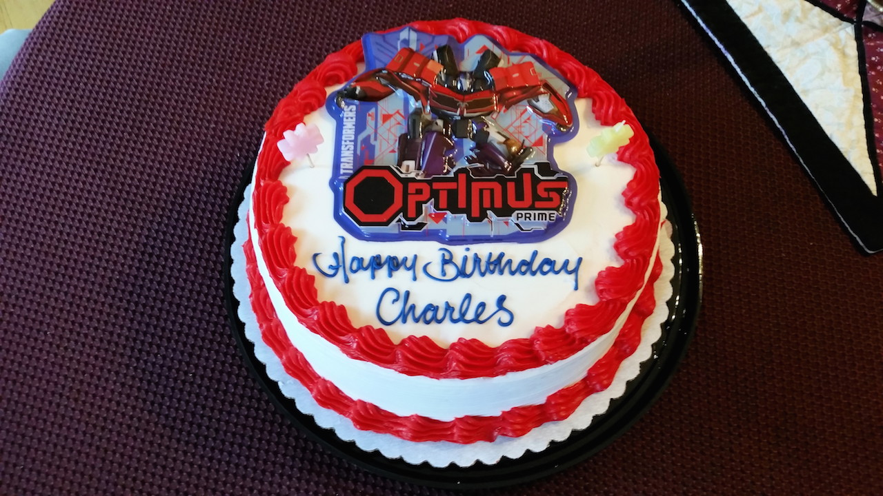 Voltron Birthday Cake