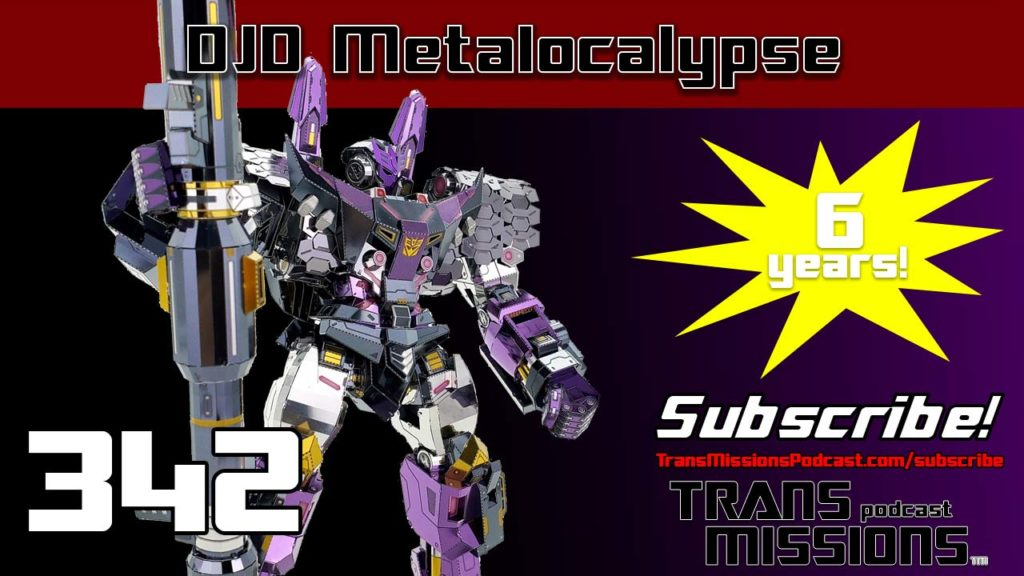 DJD Metalocalypse TransMissions: Transformers Toy News And